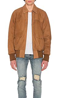 Летная куртка из нубука - Understated Leather