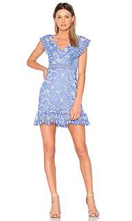 Платье с рюшами marianna - aijek