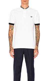 Рубашка-бомбер с воротником пике - Fred Perry