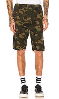 Камуфляжные пляжные шорты - Stussy