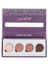 Четыре прессованные порошковые тени для глаз - ColourPop