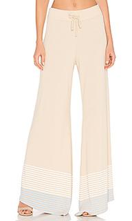 Полосатые брюки port - Wildfox Couture