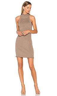 Вязаное платье с ложным воротом - 525 america