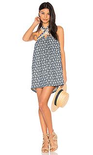 Платье с кружевной отделкой бретелек - J.O.A.