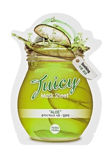 Маска Holika Holika тканевая для лица Juicy Mask сок алоэ