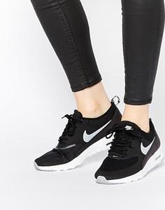 Черные кроссовки Nike Air Max Thea - Черный