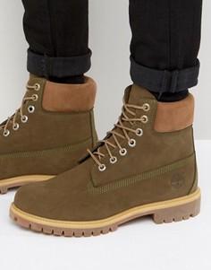 Классические премиум-ботинки Timberland - Зеленый