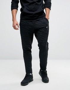 Черные современные джоггеры с вышивкой Nike 806691-010 - Черный