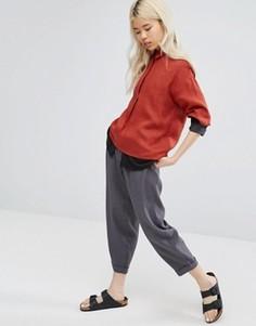 Oversize-брюки с отворотами Native Youth - Серый