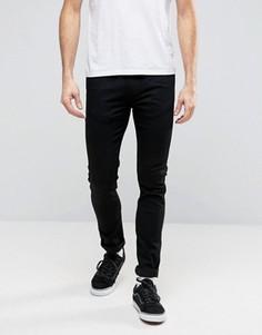Суперзауженные черные джинсы Levis Line 8 RFP - Черный