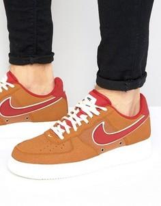 Светло-коричневые кроссовки Nike Air Force 1 LV8 718152-206 - Рыжий