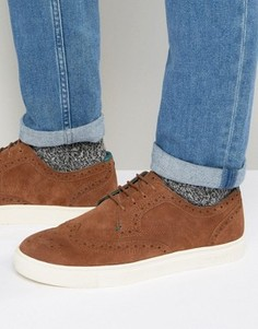 Замшевые кроссовки Ted Baker Rachet - Рыжий