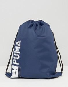 Синий рюкзак с завязкой Puma 7346802 - Синий