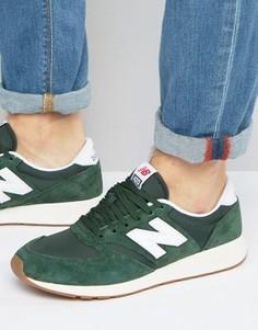 Зеленые кроссовки для бега в стиле 70-х New Balance 420 MRL420SF - Зеленый