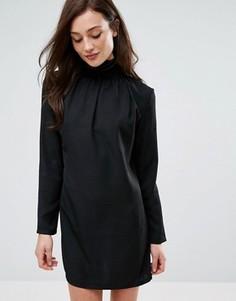 Платье с высоким воротом Fashion Union - Черный