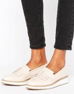 Туфли на платформе с бахромой и кисточками Missguided - Розовый