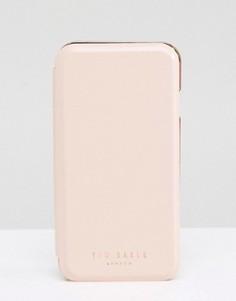 Чехол для iPhone 6 с зеркальцем Ted Baker - Оранжевый