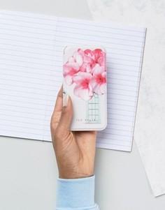 Чехол-книжка для Iphone 6 с принтом Ted Baker - Розовый