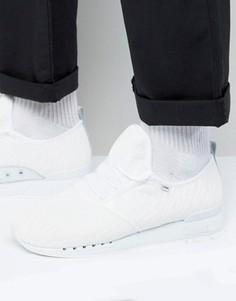 Белые сетчатые кроссовки Djinns Moc Lau - Белый