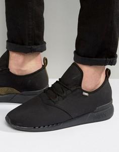 Черные кроссовки Djinns Moc Lau Hump - Черный