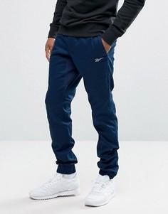 Темно-синие джоггеры Reebok BK4318 - Темно-синий
