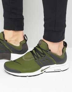 Зеленые кроссовки Nike Air Presto 848187-302 - Зеленый