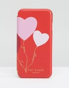 Чехол для iPhone с сердечками Ted Baker - Оранжевый