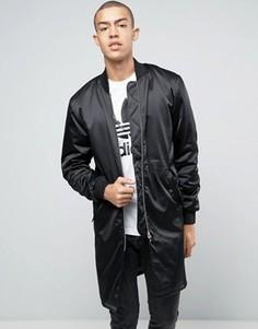 Черный бомбер adidas Originals HZO BK7235 - Черный