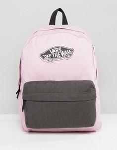 Розовый рюкзак Vans Realm - Розовый