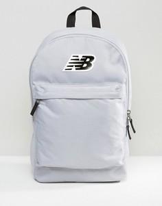 Серый классический рюкзак с логотипом New Balance - Серый