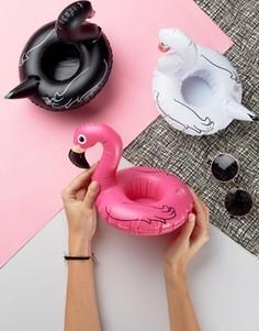 Надувные подставки под напитки в виде фламинго Big Mouth - Мульти