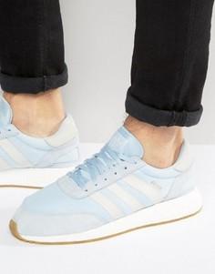 Голубые кроссовки для бега adidas Originals Iniki BB2099 - Синий