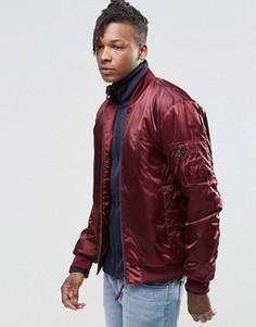 Бомбер adidas Originals Superstar MA1 AY9149 - Красный