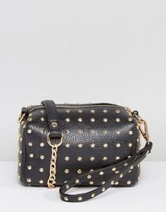 Маленькая сумка с заклепками Missguided - Черный
