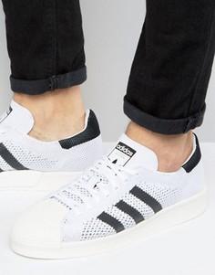 Белые кроссовки adidas Originals Superstar Boost Primeknit BB0190 - Белый