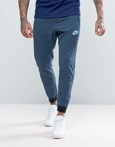 Синие трикотажные джоггеры Nike 15 837012-464 - Синий