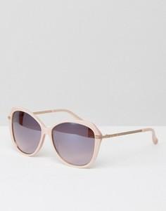 Розовые солнцезащитные очки кошачий глаз Ted Baker Lilla - Розовый