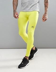 Колготки Adidas Training Tech Fit Hero - Зеленый