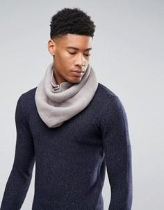 Серый шарф-снуд ASOS - Серый