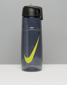 Зеленая фляжка для воды с логотипом-галочкой Nike T1 Flow 24oz OB.92421A - Зеленый