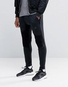 Черные флисовые джоггеры Nike Tech 805658-010 - Черный