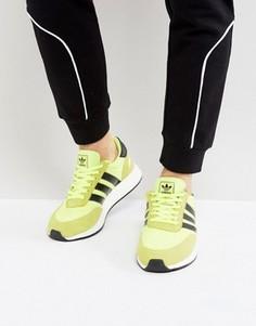 Желтые кроссовки для бега adidas Originals Iniki BB2094 - Желтый