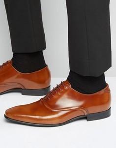 Блестящие оксфордские туфли Paul Smith Starling - Коричневый