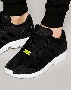 Черные кроссовки adidas Originals ZX Flux M19840 - Черный