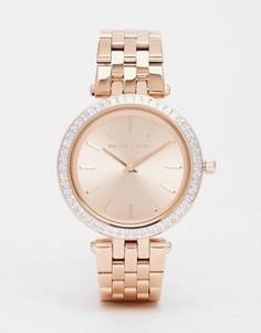 Часы с корпусом 33 мм цвета розового золота Michael Kors Darci MK3366 - Золотой