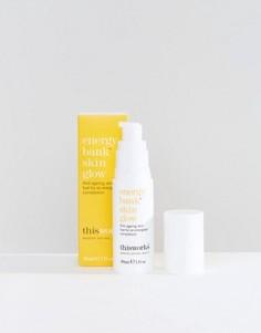 Средство для ухода за кожей This Works Energy Bank Skin Glow, 30 мл - Бесцветный