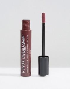 Жидкая губная помада NYX Professional Make-Up - Красный