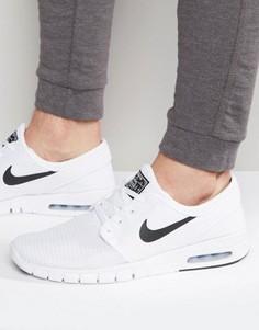 san francisco 9ac26 39c8a Белые кроссовки Nike SB Stefan Janoski Max 631303-100 - Белый