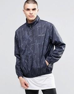 Куртка с камуфляжным принтом Heros Heroine - Черный