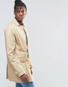 Куртка-макинтош из хлопка Native Youth - Рыжий